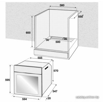 Электрический духовой шкаф BEKO BIE 22301 X