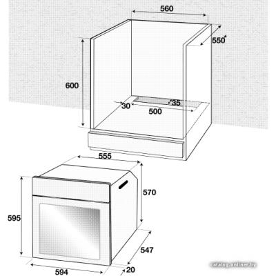 Электрический духовой шкаф BEKO BIM 24301 BGCS