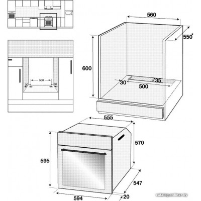 Электрический духовой шкаф BEKO BIS15300X
