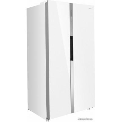 Холодильник side by side MAUNFELD MFF177NFW