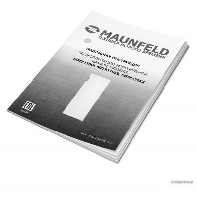Морозильник MAUNFELD MFFR170SB