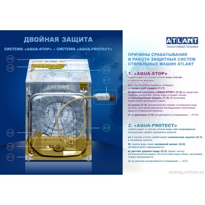 Стиральная машина ATLANT СМА 60У1210-А-08