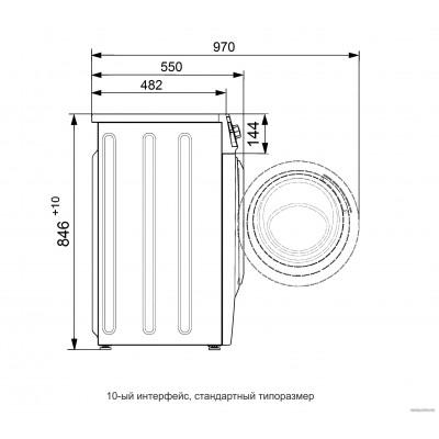 Стиральная машина ATLANT СМА 70С1010-00