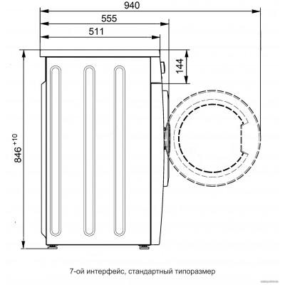Стиральная машина ATLANT СМА 70С107