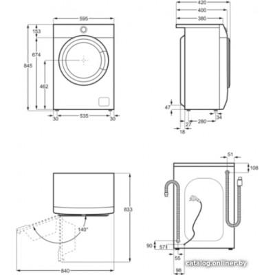 Стиральная машина Electrolux EW6S4R06BI